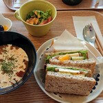 cafeひなぎく - 料理写真:ランチセット
