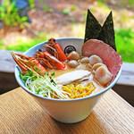 麺屋 竹蔵 - 料理写真:北海道贅尽くしらーめん