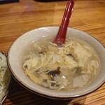 中国茶房8 - 日によって変わるスープ。