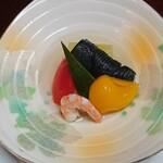 宴庵 ふるや - 料理写真:ひんやり煮物