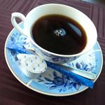 カフェキッサシーユー - ランチはコーヒーor紅茶付。コーヒーも丁寧に・・・。美味しくいただきました。