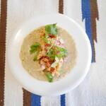 タコ ファントム - 【ポジョ】鶏肉を低温調理してサルサとあえたタコス
