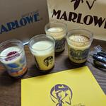 マーロウ - プリンを4個買って、3,272円 マーロウ そごう横浜店