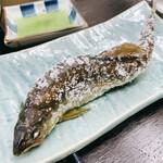 かね吉 - 和歌山産鮎の塩焼き
