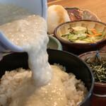 大黒屋 - 麦とろ紅鮭定食