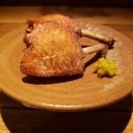 135055946 - みつせ鶏の唐揚げ 900円 柚子胡椒