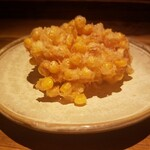 135055978 - トウモロコシと新生姜のかき揚げ 1,000円