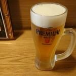 135058110 - 生ビール 480円・外税
