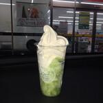 ミニストップ - 料理写真:ハロハロ 果実氷メロン