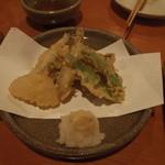 13506256 - こいわしと野菜の天ぷら