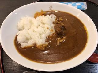 和かふぇ 遅々 - 海軍カレー