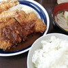 Hanamomen - 料理写真:海老とんかつ定食