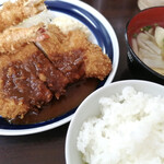 花もめん - 料理写真:海老とんかつ定食