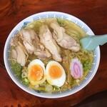 おざわ食堂 - 鶏中華そば(塩)680円