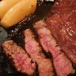 那須イートイット 和牛 - 料理写真:仙台牛のステーキ