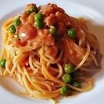 YAMA - 生ハムとGピースのスパゲティーニ