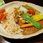 13507677 - 野菜カレー(12年6月)