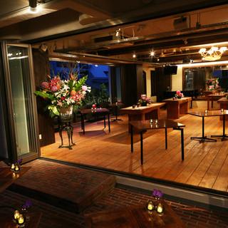 【上質な空間で貸し切り】結婚式二次会・歓送迎会ご予約承ります