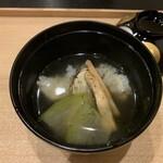 東條 - 鱧と松茸