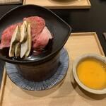 東條 - 阿波牛のすき焼き