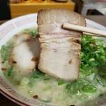 くろいわラーメン - 自家製チャーシュー (少し固めで味が濃いさっぱりチャーシュー)