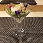 Kagurazaka sushi tamura - 蟹サラダ