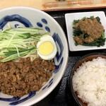三商巧福 - ジャージャン麺セット