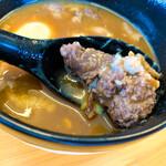 ジビエラーメン 山くじら - 熊つけ麺