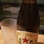 ランタン - サッポロ赤星 中瓶(800円)