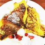 クロワッサンCafe クイニー - クロワッサンのフレンチトースト