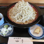 那須蕎麦 山月 - 「もりそば(山月) 大盛り ¥1.210」