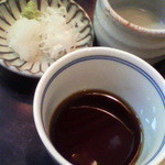 蕎麦茶屋 壷中 - そばつゆ