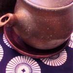 蕎麦茶屋 壷中 - 蕎麦湯