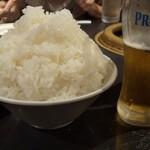 味ん味ん - 料理写真:昔話盛りの大ライス