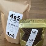 405 コーヒーロースターズ - ハウスブレンドとゲイシャ