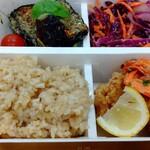 パリヤ - 玄米、ガーリックシュリンプ&モテコチキン ♪