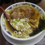まぐろラーメン大門 - 料理写真:まぐろラーメン(醤油)
