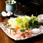 酒菜 おかめ - 料理写真:つくば鶏すきやき