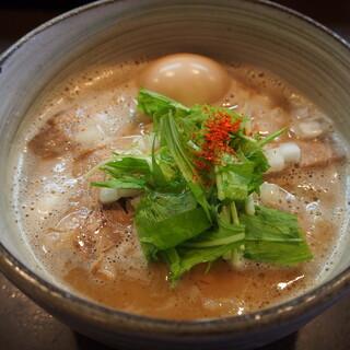 麺処 と市 - 料理写真:味玉ちゃーしゅーめん