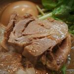 麺処 と市 - 味玉ちゃーしゅーめん(ちゃーしゅー)