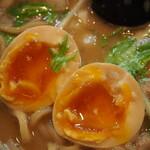 麺処 と市 - 味玉ちゃーしゅーめん(味玉)
