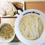 Sagamihara 欅 - 【限定】すだち塩つけ麺1030円+大盛100円+味玉100円