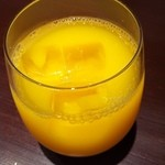 13511564 - ドリンクバーのオレンジジュース