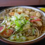 蟠岳荘 - 料理写真:ホクホクの食堂系おそば
