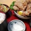 尾瀬市場 - 料理写真:ジャンボから揚げ定食!