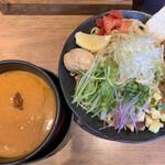 つけめん・らーめん 海老鶏麺蔵 - ■海老つけ麺大盛り¥950