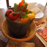 塊 ミートバル - 野菜スティック