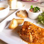 ヒヤシンスカフェ - 豚バラ肉のトマト煮込み (950円)