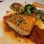 レストラン 中台 - 失念(コースの魚料理)