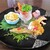 CUISINE China 凛 - 料理写真:前菜:有頭海老、干し豆腐麺、ワカサギのマリネ、胡麻だれ棒棒鶏、蛸、桜豆腐、ナッツのあめ炊き、胡桃・ピーナッツ、プチトマトが綺麗に盛り付けられています。     2020.08.15